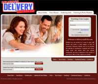 Delicious Delivery And To Go's Website