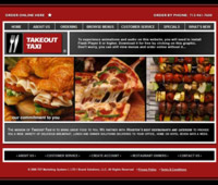 Takeout Taxi Houston's Website